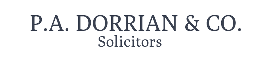 PA Dorrian & Co. Solicitors Logo