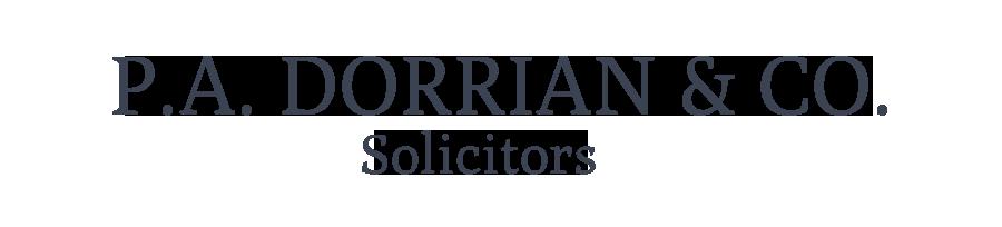 PA Dorrian & Co. Solicitors Logo